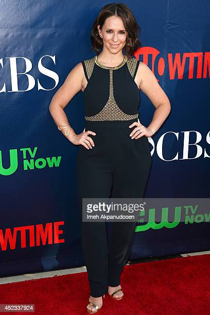 Actress Jennifer Love Hewitt attends the CBS The CW Showtime CBS Television Distribution's 2014 TCA Summer Press Tour Party at Pacific Design Center...