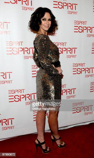 Actress Jennifer Love Hewitt attends the Esprit flagship store opening at Esprit on March 23 2010 in New York City