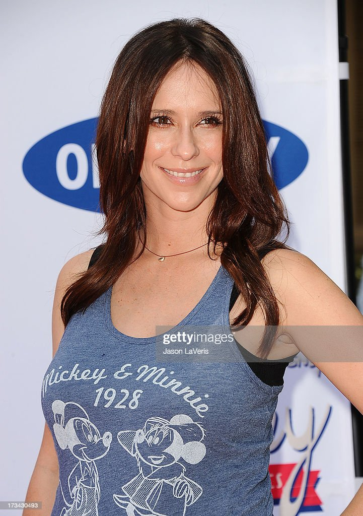 Actress Jennifer Love Hewitt attends the 'Mickey Through The Decades' collection celebration at Walt Disney Studios on July 13, 2013 in Burbank, California.