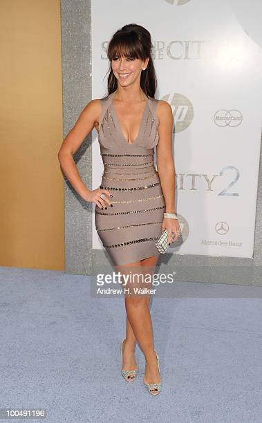 Actress Jennifer Love Hewitt attends the 'Sex And The City 2' Premiere presented by MercedesBenz And Maybach at Radio City Music Hall on May 24 2010...