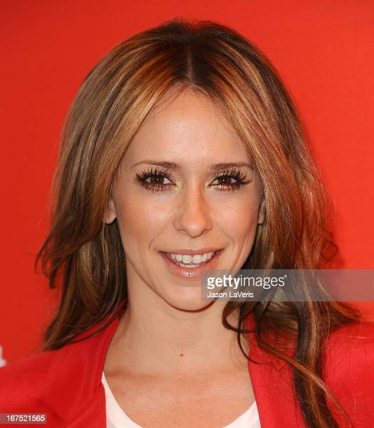 Actress Jennifer Love Hewitt attends the Valentine's Day event for the upcoming season of 'The Client List' at Mel's Diner on February 14 2013 in...