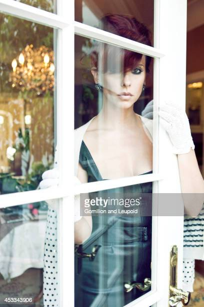 Actress Jennifer Love Hewitt is photographed for Press Shoot on September 1 2011 in Los Angeles California