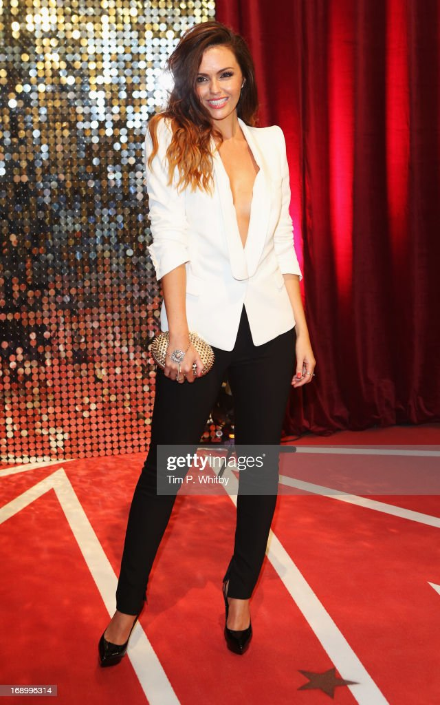 Actress Jennifer Metcalfe attends the British Soap Awards at Media City on May 18, 2013 in Manchester, England.
