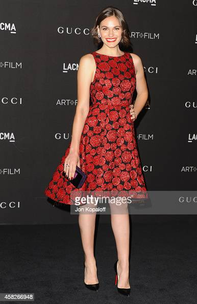 Actress Jennifer Missoni arrives at the 2014 LACMA Art Film Gala Honoring Quentin Tarantino And Barbara Kruger at LACMA on November 1 2014 in Los...