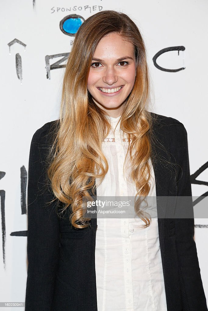 Actress Jennifer Missoni attends The Art Of Elysium's 6th Annual Pieces Of Heaven Powered By Ciroc Ultra Premium Vodka at Ace Museum on February 20, 2013 in Los Angeles, California.