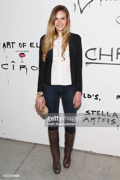 Actress Jennifer Missoni attends The Art Of Elysium's 6th Annual Pieces Of Heaven Powered By Ciroc Ultra Premium Vodka at Ace Museum on February 20...