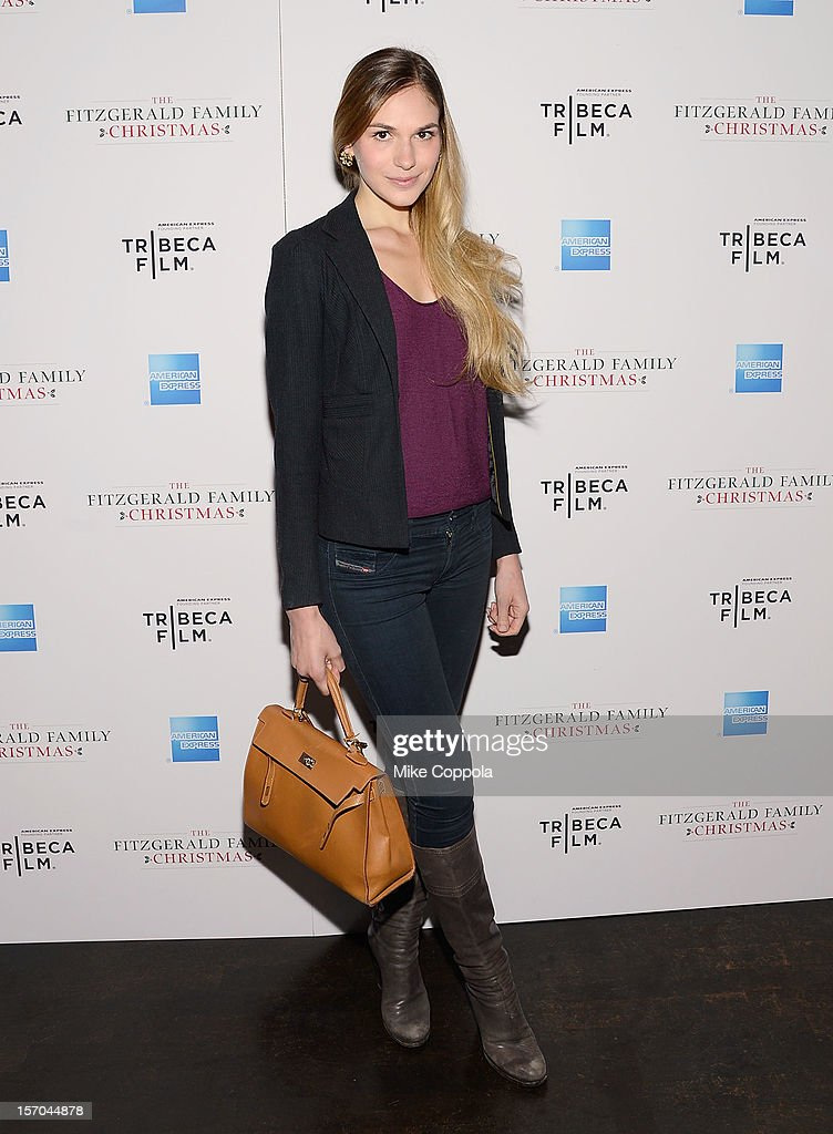 Actress Jennifer Missoni attends Tribeca Film's Special New York Screening Of 'The Fitzgerald Family Christmas' at Tribeca Grand Hotel on November 27, 2012 in New York City.