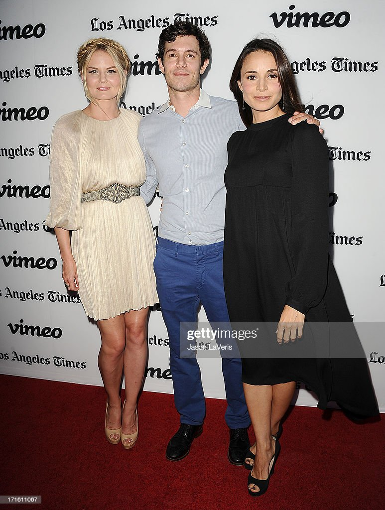 Actress Jennifer Morrison actor Adam Brody and actress Mia Maestro attend the premiere of 'Some Girl' at Laemmle NoHo 7 on June 26 2013 in North...