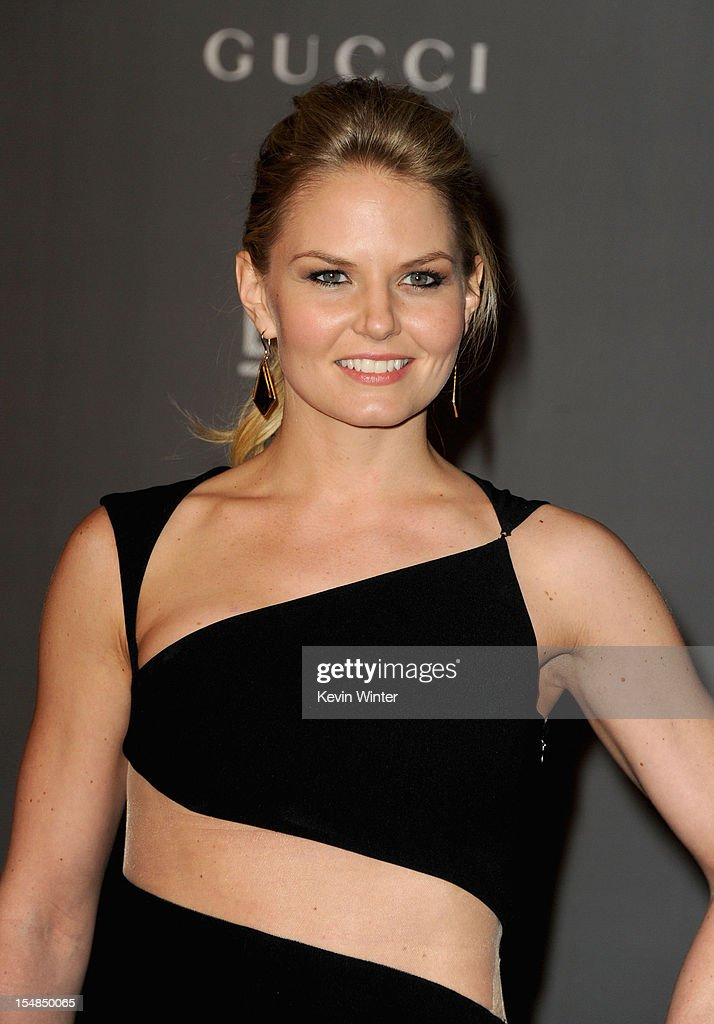 Actress Jennifer Morrison arrives at LACMA 2012 Art + Film Gala at LACMA on October 27, 2012 in Los Angeles, California.