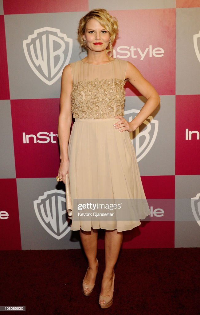 Actress <a gi-track='captionPersonalityLinkClicked' href=/galleries/search?phrase=Jennifer+Morrison&family=editorial&specificpeople=233495 ng-click='$event.stopPropagation()'>Jennifer Morrison</a> arrives at the 2011 InStyle And Warner Bros. 68th Annual Golden Globe Awards post-party held at The Beverly Hilton hotel on January 16, 2011 in Beverly Hills, California.