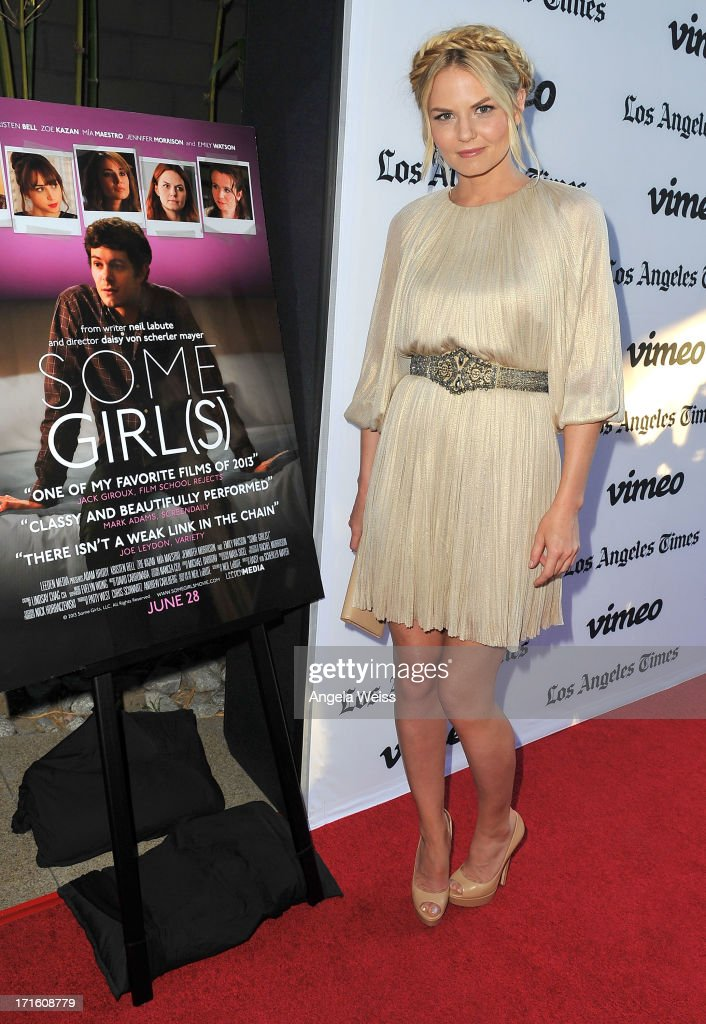 Actress <a gi-track='captionPersonalityLinkClicked' href=/galleries/search?phrase=Jennifer+Morrison&family=editorial&specificpeople=233495 ng-click='$event.stopPropagation()'>Jennifer Morrison</a> arrives at the premiere of 'Some Girl(s)' at Laemmle NoHo 7 on June 26, 2013 in North Hollywood, California.