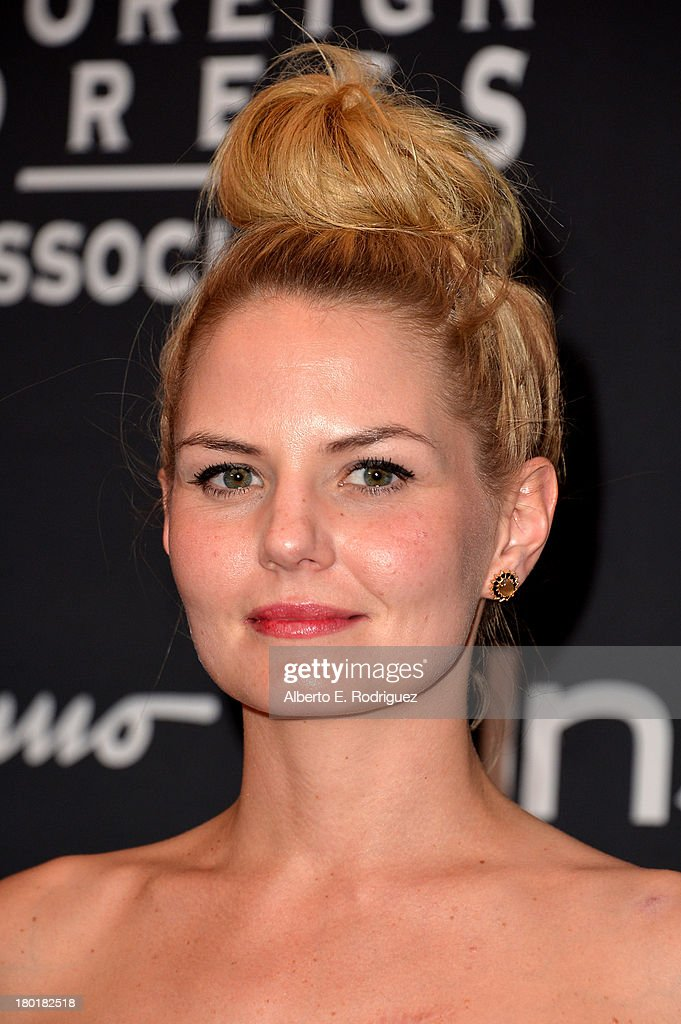 Actress <a gi-track='captionPersonalityLinkClicked' href=/galleries/search?phrase=Jennifer+Morrison&family=editorial&specificpeople=233495 ng-click='$event.stopPropagation()'>Jennifer Morrison</a> arrives at the TIFF HFPA - InStyle Party during the 2013 Toronto International Film Festival at Windsor Arms Hotel on September 9, 2013 in Toronto, Canada.