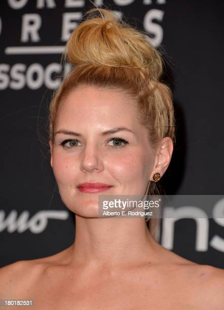 Actress Jennifer Morrison arrives at the TIFF HFPA InStyle Party during the 2013 Toronto International Film Festival at Windsor Arms Hotel on...