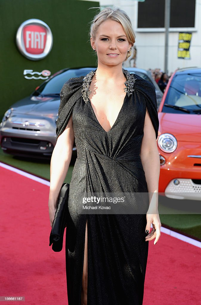 Actress Jennifer Morrison at Fiat's Into The Green during the 40th American Music Awards held at Nokia Theatre L.A. Live on November 18, 2012 in Los Angeles, California.