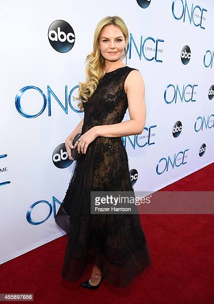 Actress Jennifer Morrison attends a screening of ABC's 'Once Upon A Time' Season 4 at the El Capitan Theatre on September 21 2014 in Hollywood...