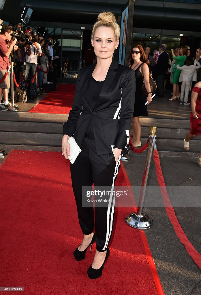 Actress <a gi-track='captionPersonalityLinkClicked' href=/galleries/search?phrase=Jennifer+Morrison&family=editorial&specificpeople=233495 ng-click='$event.stopPropagation()'>Jennifer Morrison</a> attends Focus Features' 'Wish I Was Here' premiere at DGA Theater on June 23, 2014 in Los Angeles, California.