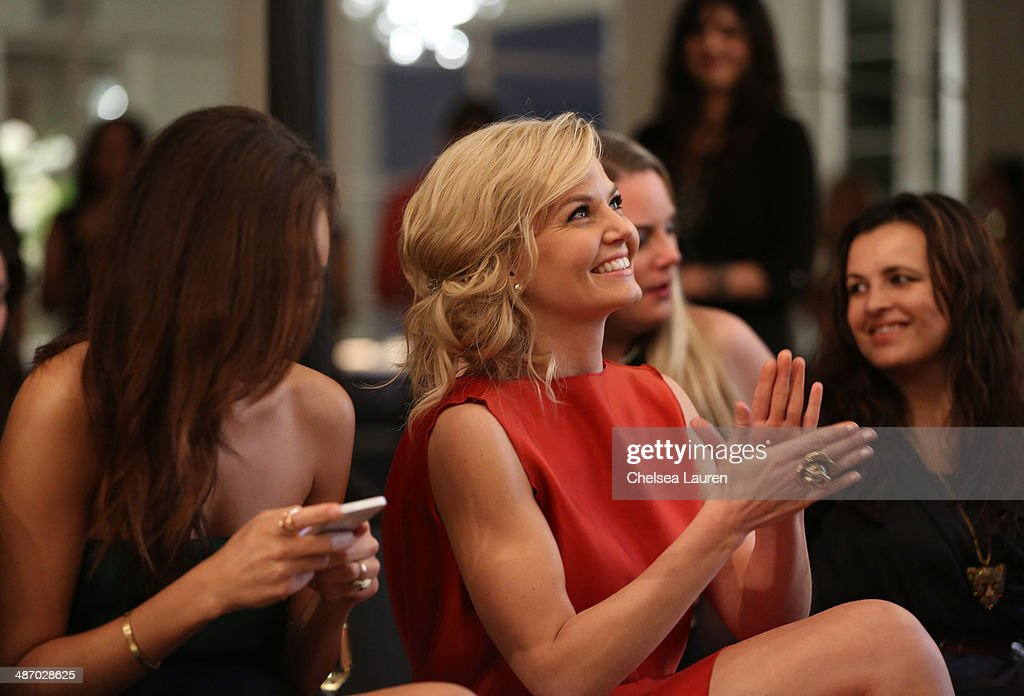 Actress Jennifer Morrison attends Lanvin And Living Beauty Host An Evening Of Fashion on April 26, 2014 in Beverly Hills, California.