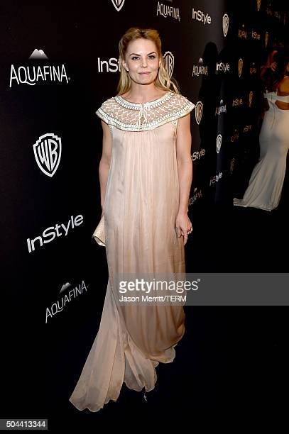 Actress Jennifer Morrison attends The 2016 InStyle And Warner Bros 73rd Annual Golden Globe Awards PostParty at The Beverly Hilton Hotel on January...