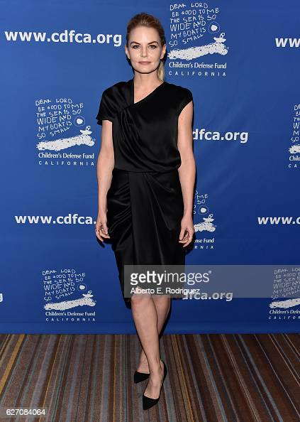 Actress Jennifer Morrison attends the 26th Annual Beat The Odds Awards hosted by Children's Defense Fund California at Regent Beverly Wilshire Hotel...