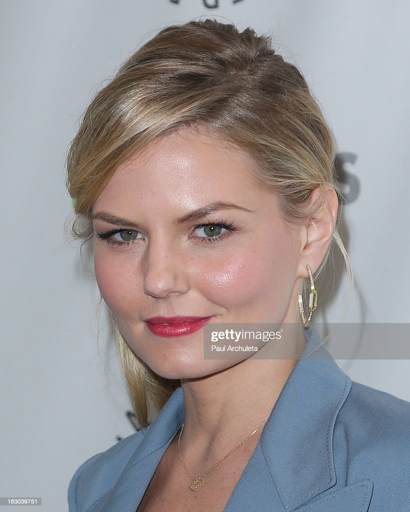 Actress <a gi-track='captionPersonalityLinkClicked' href=/galleries/search?phrase=Jennifer+Morrison&family=editorial&specificpeople=233495 ng-click='$event.stopPropagation()'>Jennifer Morrison</a> attends the 30th annual PaleyFest featuring the cast of 'Once Upon A Time' at the Saban Theatre on March 3, 2013 in Beverly Hills, California.