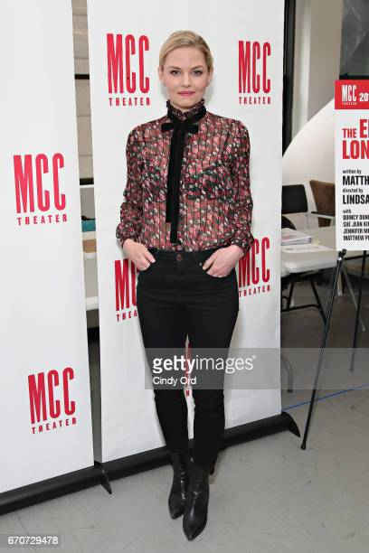 Actress Jennifer Morrison attends 'The End Of Longing' cast photocall at Roundabout Rehearsal Studio on April 20 2017 in New York City