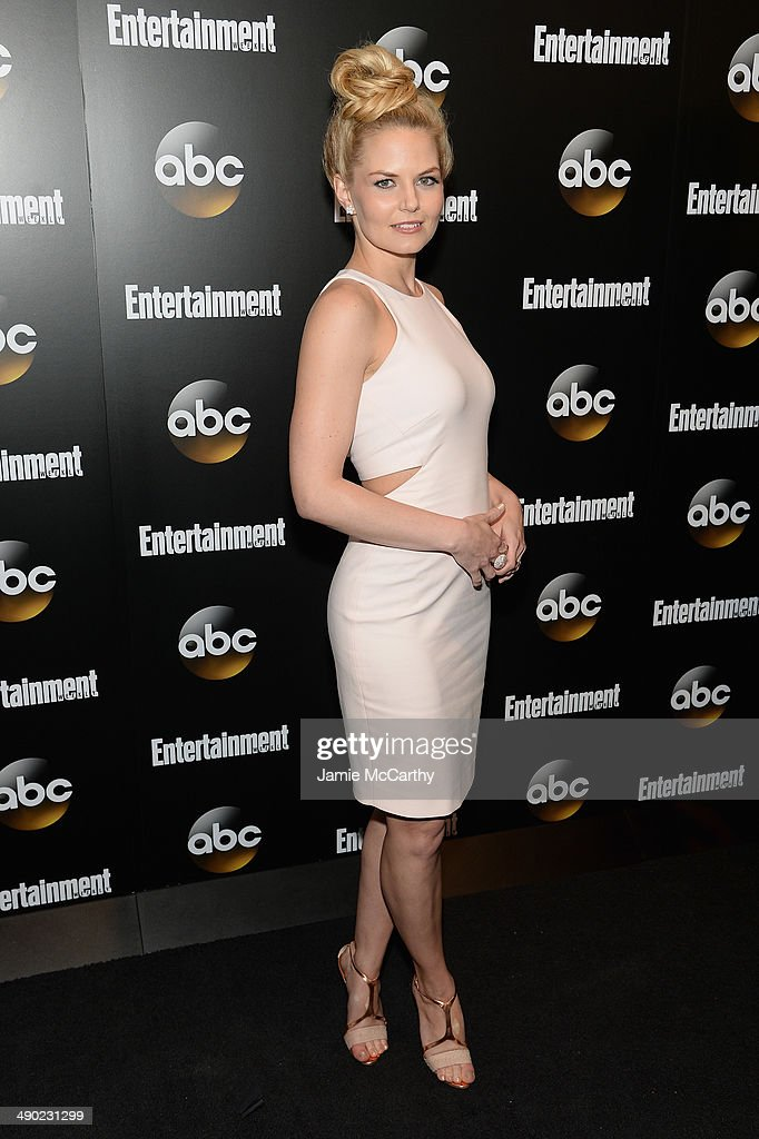 Actress <a gi-track='captionPersonalityLinkClicked' href=/galleries/search?phrase=Jennifer+Morrison&family=editorial&specificpeople=233495 ng-click='$event.stopPropagation()'>Jennifer Morrison</a> attends the Entertainment Weekly & ABC Upfronts Party at Toro on May 13, 2014 in New York City.