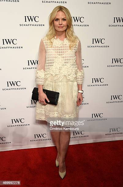 Actress Jennifer Morrison attends the IWC Schaffhausen Third Annual 'For the Love of Cinema' Gala during the Tribeca Film Festival on April 16 2015...
