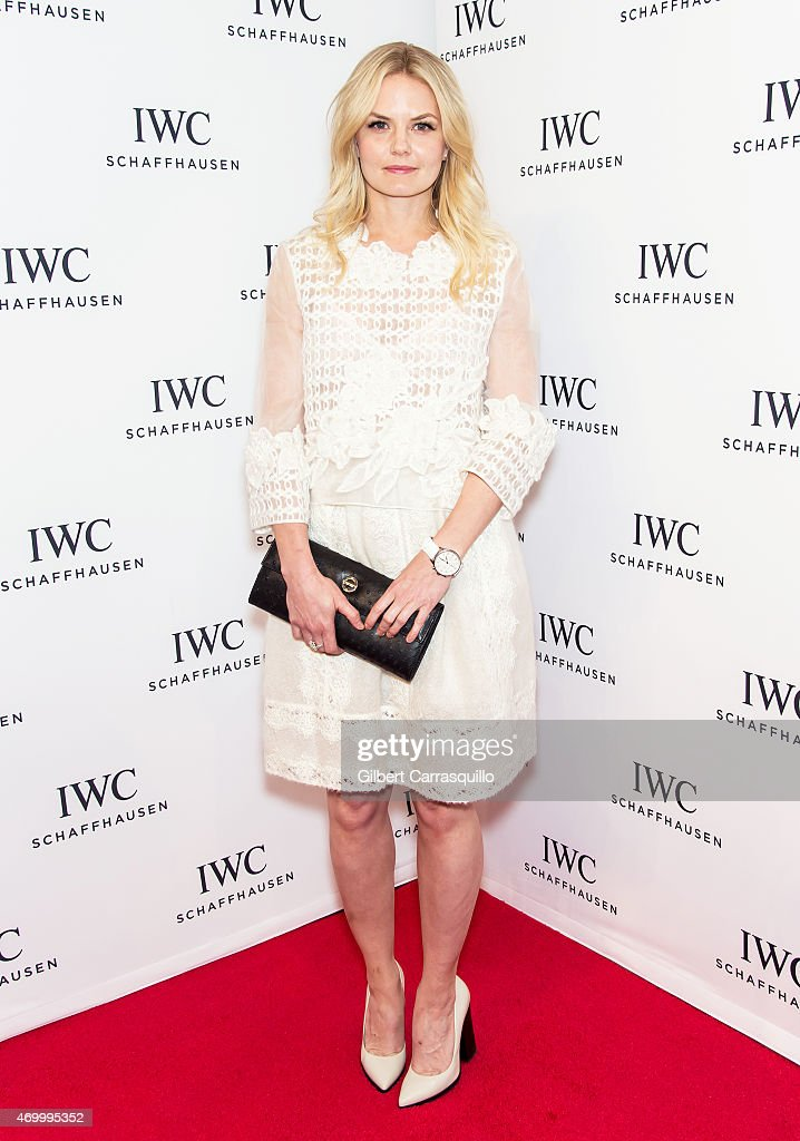 Actress Jennifer Morrison attends the IWC Schaffhausen third annual 'For the Love of Cinema' dinner during Tribeca Film Festival at Spring Studios on April 16, 2015 in New York City.