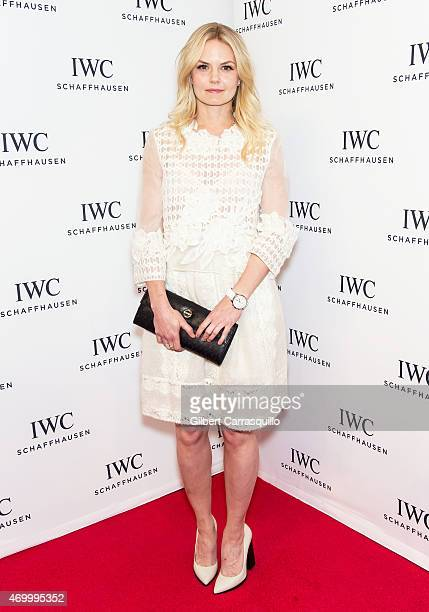 Actress Jennifer Morrison attends the IWC Schaffhausen third annual 'For the Love of Cinema' dinner during Tribeca Film Festival at Spring Studios on...