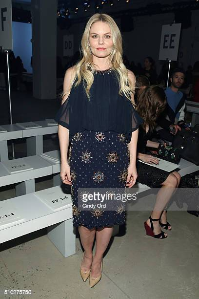 Actress Jennifer Morrison attends the Jenny Packham Fall 2016 fashion show during New York Fashion Week The Shows at The Gallery Skylight at Clarkson...