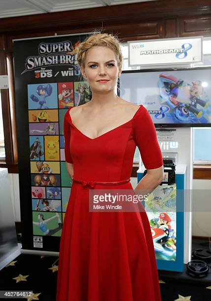Actress Jennifer Morrison attends the Nintendo Lounge On The TV Guide Magazine Yacht At ComicCon #TVGMYacht during San Diego ComicCon International...