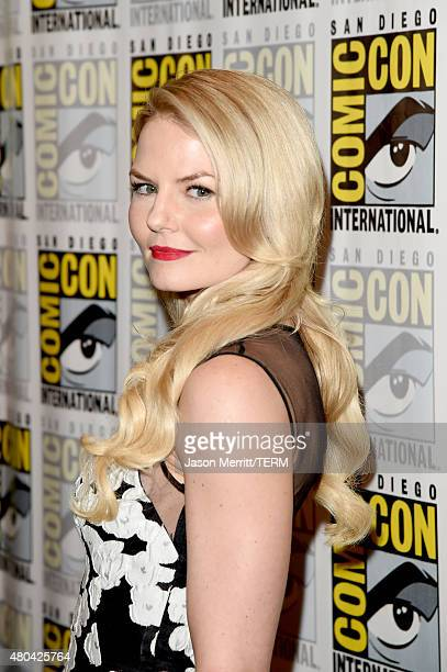 Actress Jennifer Morrison attends the 'Once Upon A Time' press room during ComicCon International 2015 at the Hilton Bayfront on July 11 2015 in San...