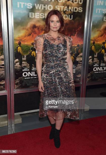 Actress Jennifer Morrison attends the 'Only The Brave' New York Screening at iPic Theater on October 17 2017 in New York City