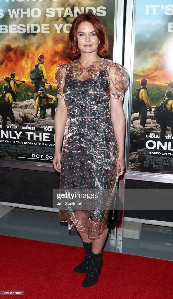Actress Jennifer Morrison attends the 'Only The Brave' New York screening at iPic Theater on October 17, 2017 in New York City.