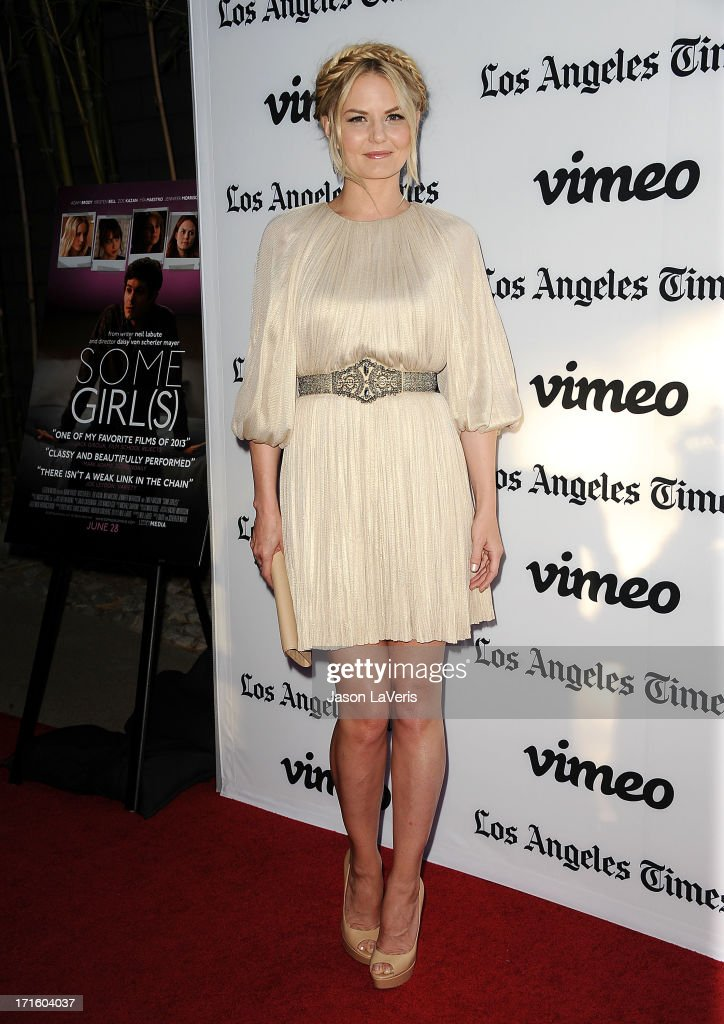 Actress Jennifer Morrison attends the premiere of 'Some Girl' at Laemmle NoHo 7 on June 26 2013 in North Hollywood California