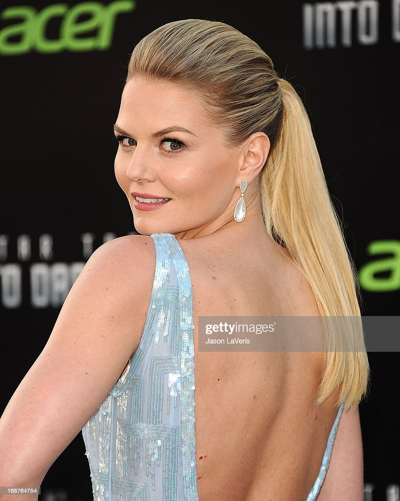 Actress <a gi-track='captionPersonalityLinkClicked' href=/galleries/search?phrase=Jennifer+Morrison&family=editorial&specificpeople=233495 ng-click='$event.stopPropagation()'>Jennifer Morrison</a> attends the premiere of 'Star Trek Into Darkness' at Dolby Theatre on May 14, 2013 in Hollywood, California.