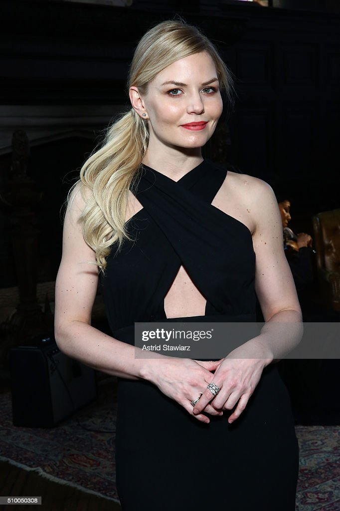 Actress <a gi-track='captionPersonalityLinkClicked' href=/galleries/search?phrase=Jennifer+Morrison&family=editorial&specificpeople=233495 ng-click='$event.stopPropagation()'>Jennifer Morrison</a> attends the TRESemme at Mara Hoffman A/W16 Presentation at High Line Hotel, The Refectory on February 13, 2016 in New York City.