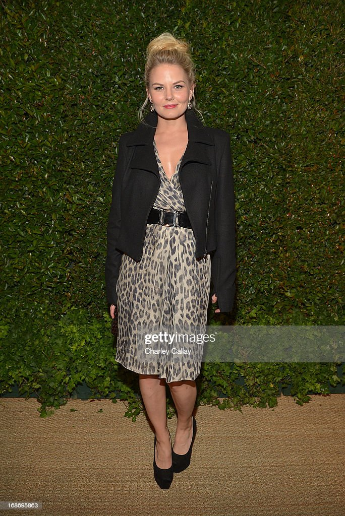 Actress Jennifer Morrison attends Vogue and MAC Cosmetics dinner hosted by Lisa Love and John Demsey in honor of Prabal Gurung at the Chateau Marmont on Monday, May 13, 2013 in Los Angeles, California.