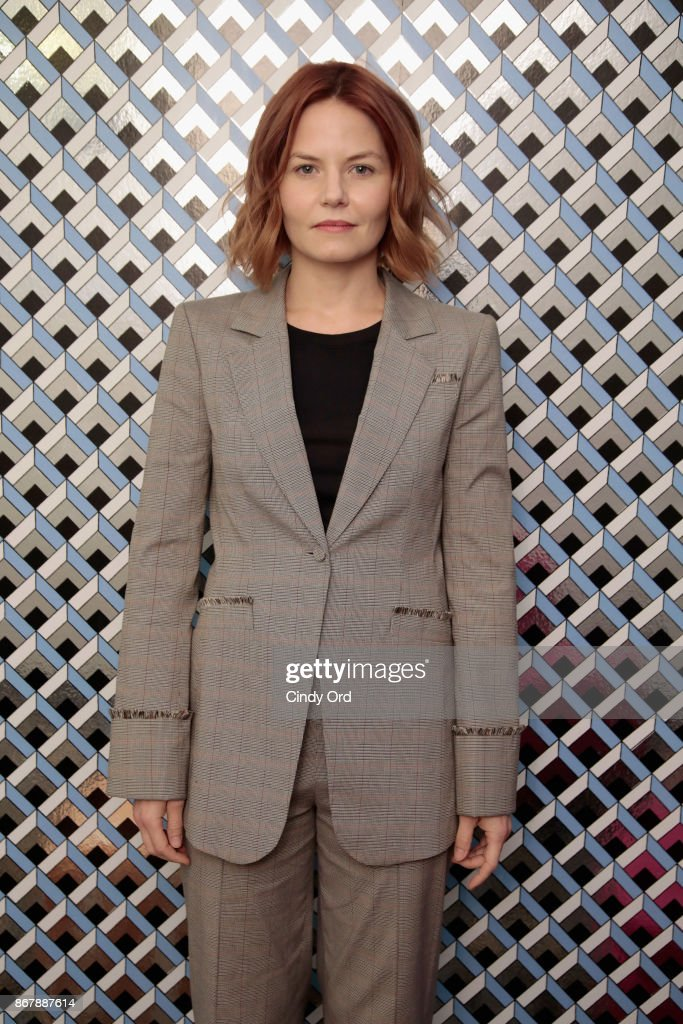 Actress Jennifer Morrison poses backstage at 'Sun Dogs' Q&A during the 20th Anniversary SCAD Savannah Film Festival on October 29, 2017 in Savannah, Georgia.