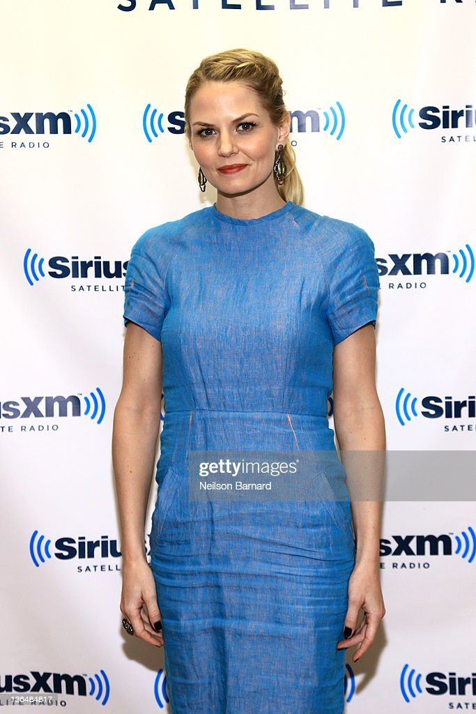 Actress Jennifer Morrison visits SiriusXM Studios on January 6, 2012 in New York City.