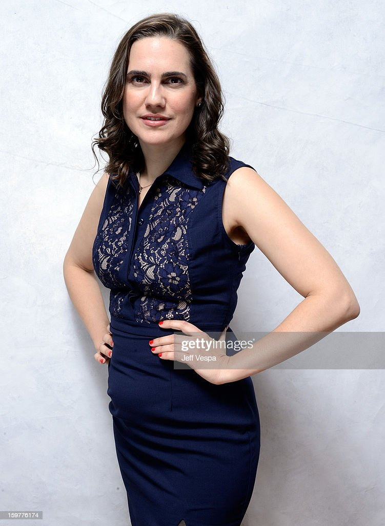 Actress Jennifer Prediger poses for a portrait during the 2013 Sundance Film Festival at the WireImage Portrait Studio at Village At The Lift on January 20, 2013 in Park City, Utah.