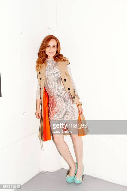 Actress Jennifer Schemke is photographed for Self Assignment on April 21 2017 in Los Angeles California