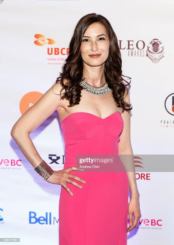 Actress Jennifer Spence attends the 2014 Leo Awards - Gala Awards Ceremony at Fairmont Hotel Vancouver on June 1, 2014 in Vancouver, Canada.