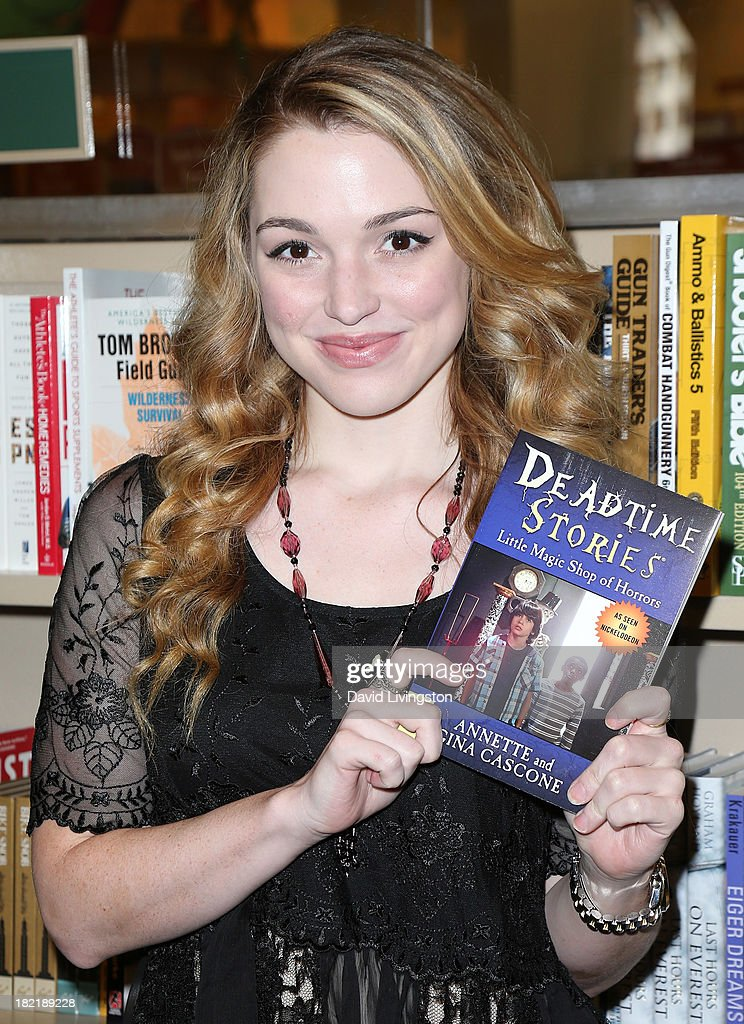 "Jennifer Stone Celebrates Her New Nickelodeon Series ""Deadtime Stories"""