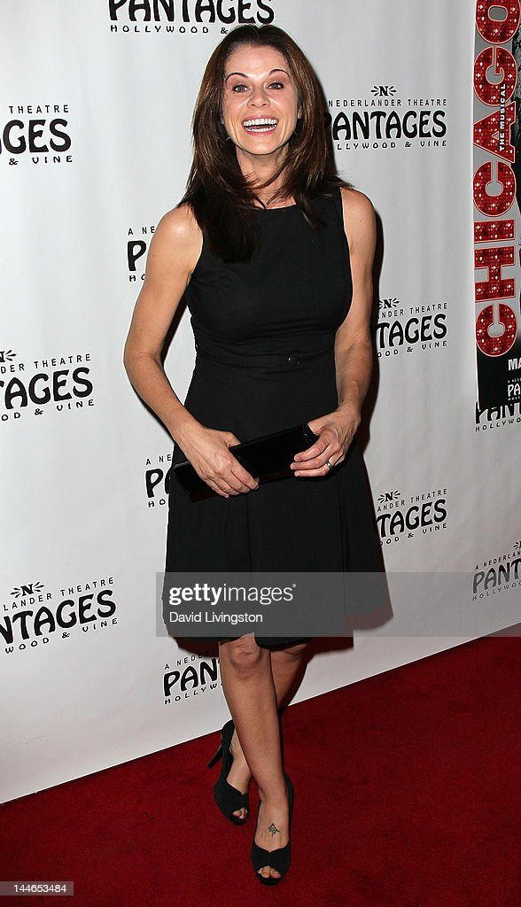 Actress Jennifer Taylor attends the opening night of 'Chicago' at the Pantages Theatre on May 16, 2012 in Hollywood, California.