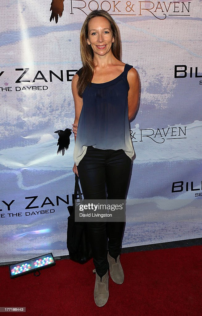 Actress Jennifer Taylor Lawrence attends the opening night of Billy Zane's 'Seize The Day Bed' solo art exhibition at G+ Gulla Jonsdottir Design on August 21, 2013 in Los Angeles, California.