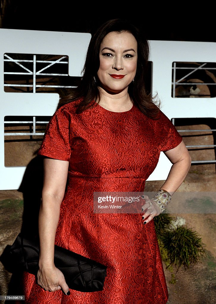 Actress Jennifer Tilly arrives at the after party for the opening of Hermes Beverly Hills Boutique at 3 Labs on September 3, 2013 in Culver City, California.