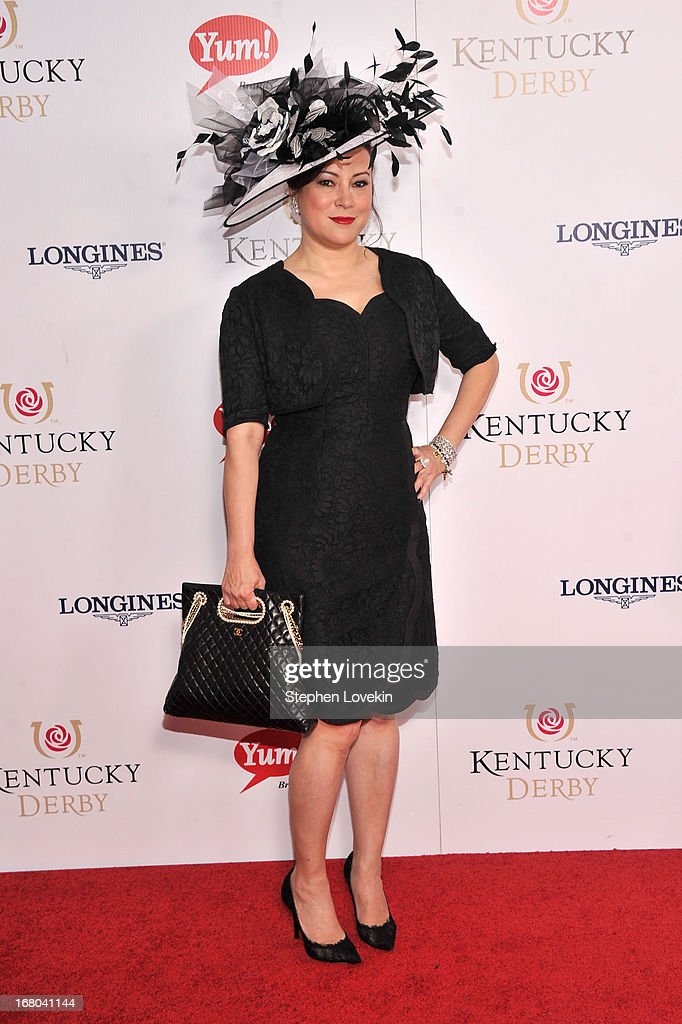 Actress Jennifer Tilly attends the 139th Kentucky Derby at Churchill Downs on May 4, 2013 in Louisville, Kentucky.