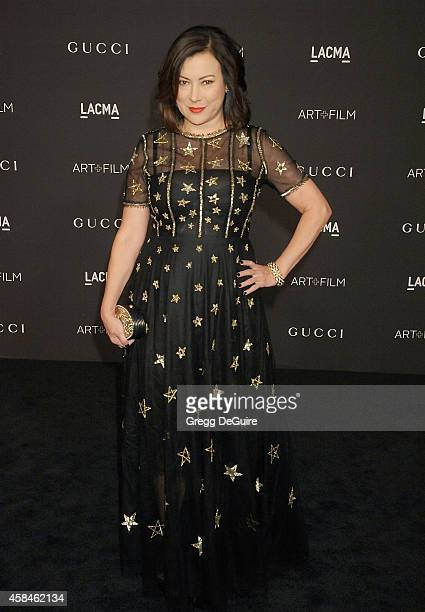 Actress Jennifer Tilly attends the 2014 LACMA Art Film Gala Honoring Barbara Kruger And Quentin Tarantino Presented By Gucci at LACMA on November 1...