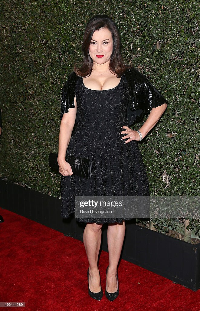 Actress <a gi-track='captionPersonalityLinkClicked' href=/galleries/search?phrase=Jennifer+Tilly&family=editorial&specificpeople=202575 ng-click='$event.stopPropagation()'>Jennifer Tilly</a> attends the 2014 Writers Guild Awards L.A. Ceremony at JW Marriott Los Angeles at L.A. LIVE on February 1, 2014 in Los Angeles, California.